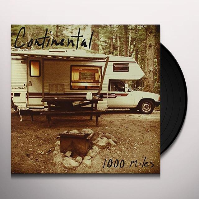 Continental 1000 MILES Vinyl Record