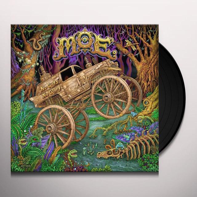 Moe NO GUTS NO GLORY Vinyl Record