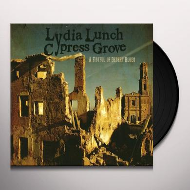Lydia Lunch FISTFUL OF DESERT BLUES Vinyl Record