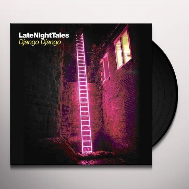 Django Django LATE NIGHT TALES Vinyl Record - Black Vinyl, Gatefold Sleeve, 180 Gram Pressing, Digital Download Included