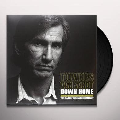 Townes Van Zandt DOWN HOME Vinyl Record - Limited Edition