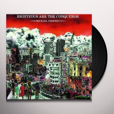 Michael Prophet RIGHTEOUS ARE THE CONQUEROR Vinyl Record
