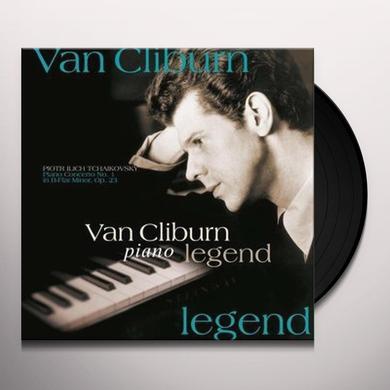 Tchaikovsky / Cliburn CONCERTO 1 Vinyl Record - 180 Gram Pressing