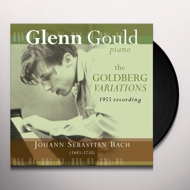 Gould / Bach GOLDBERG VARIATIONS: 1955 RECORDINGS Vinyl Record - 180 Gram Pressing