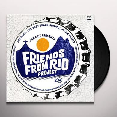 FRIENDS FROM RIO PROJECT 2014 Vinyl Record