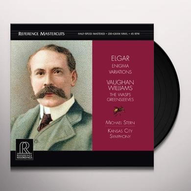 Elgar / Kansas City Symphony ENIGMA VARIATIONS Vinyl Record