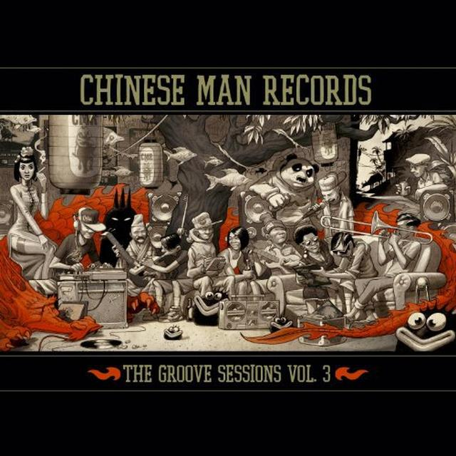 Chinese Man GROOVE SESSIONS 3 Vinyl Record