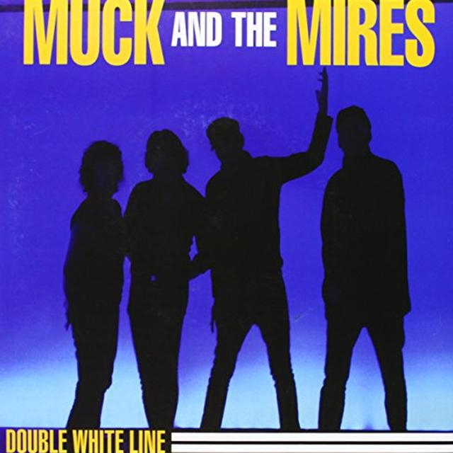 Muck & The Mires DOUBLE WHITE LINE Vinyl Record
