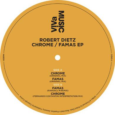 Robert Dietz CHROME/FAMAS EP Vinyl Record