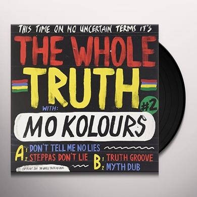 The Whole Truth DON T TELL ME NO LIES Vinyl Record