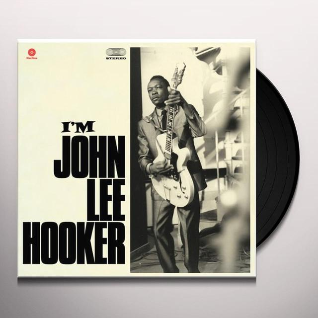 I M JOHN LEE HOOKER Vinyl Record - Spain Import