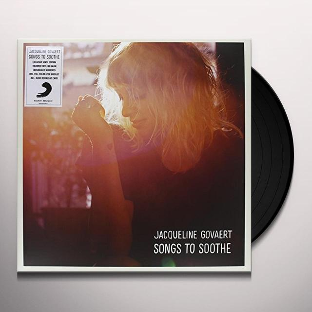 Jacqueline Govaert SONGS TO SOOTHE Vinyl Record