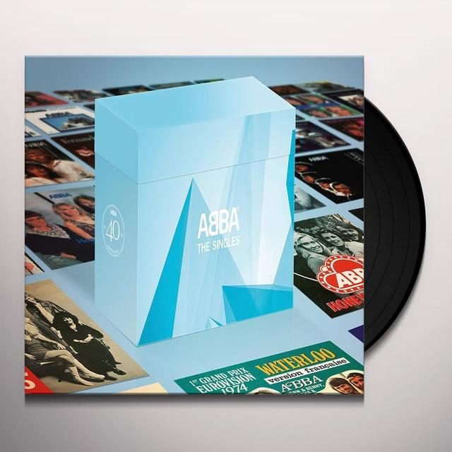 Abba SINGLE BOX Vinyl Record - UK Import