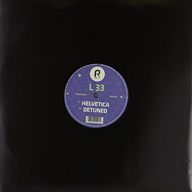 L 33 HELVETICA/DETUNED Vinyl Record
