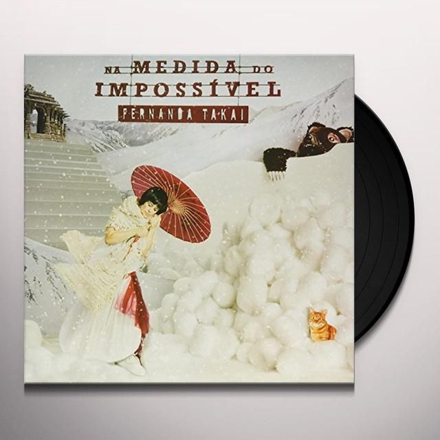 Fernanda Takai NA MEDIDA DO IMPOSSIVEL Vinyl Record