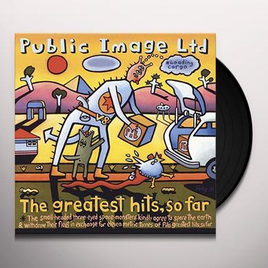Public Image Ltd ( Pil ) GREATEST HITS SO FAR (HK) Vinyl Record