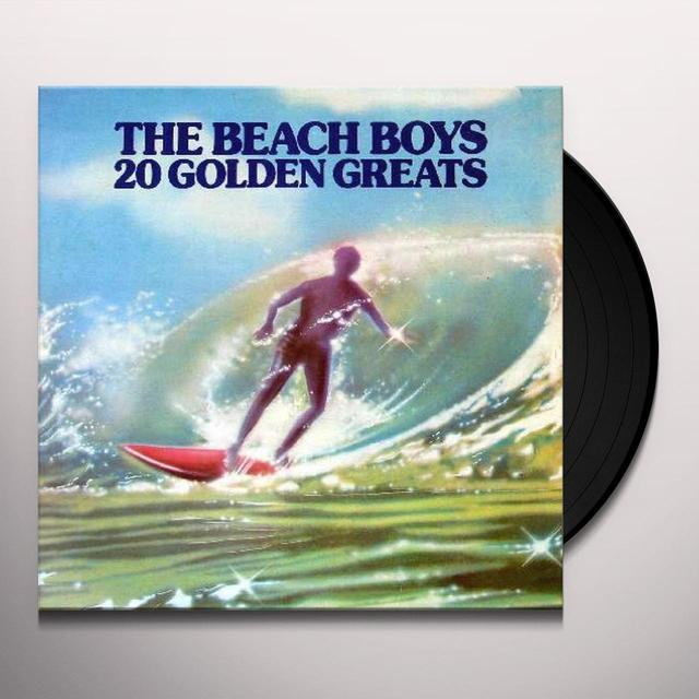 The Beach Boys 20 GOLDEN GREATS (HK) Vinyl Record