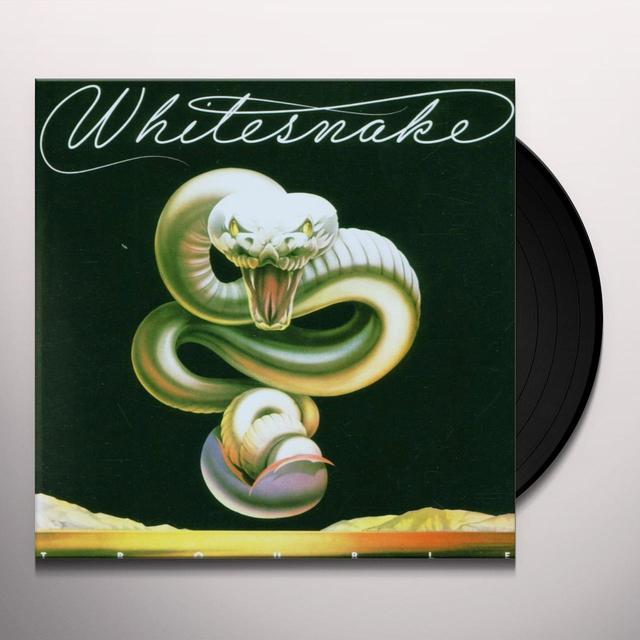 Whitesnake TROUBLE (HK) Vinyl Record
