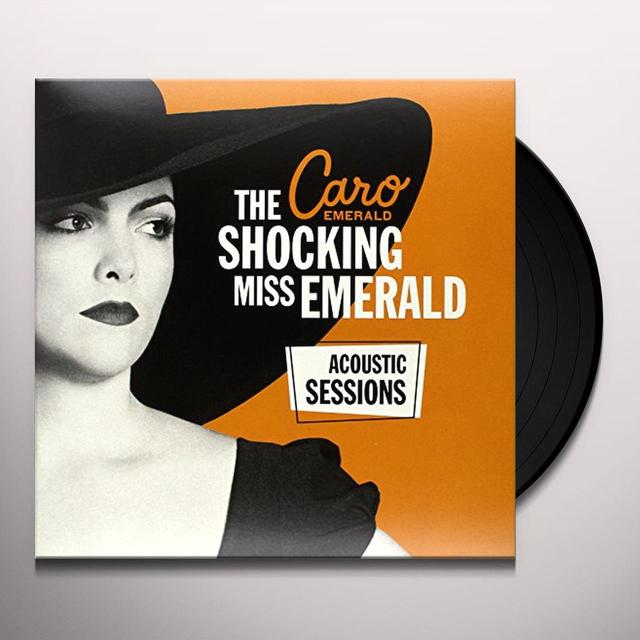 Caro Emerald SHOCKING MISS EMERALD ACOUSTIC Vinyl Record