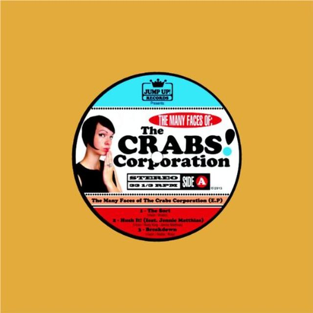 MANY FACES OF THE CRABS CORPORATION Vinyl Record