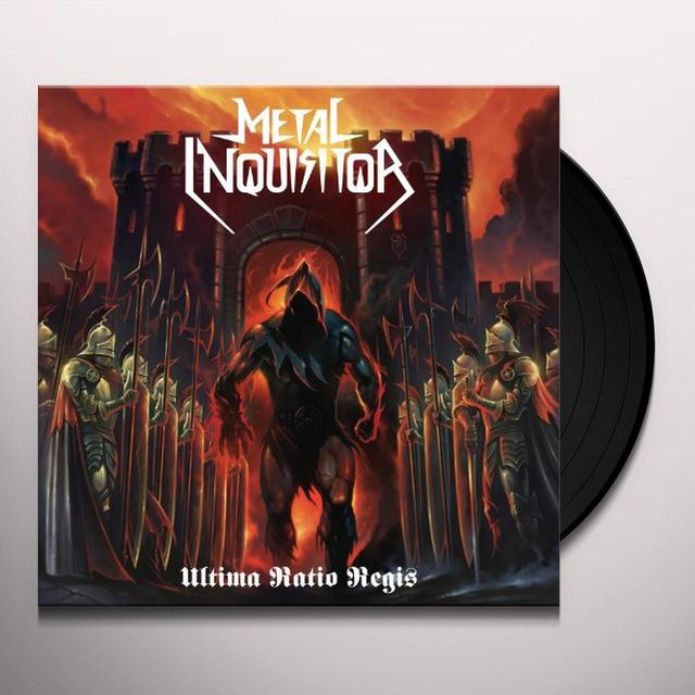 Metal Inquisitor ULTIMA RATIO REGIS (GER) Vinyl Record