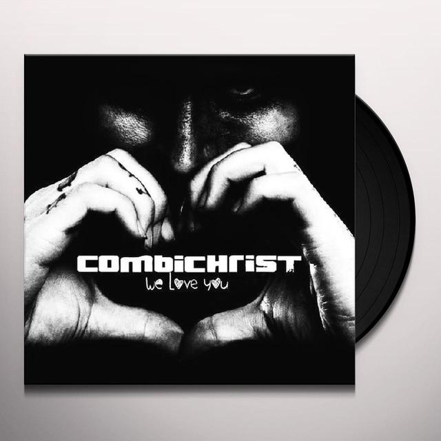 Combichrist WE LOVE YOU (GER) Vinyl Record