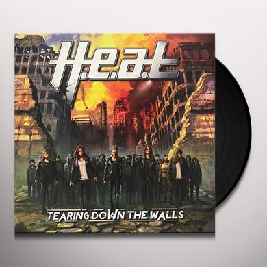 H.E.A.T. TEARING DOWN THE WALLS Vinyl Record - Holland Release