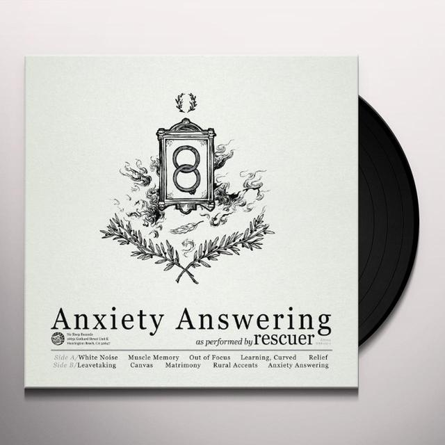 Rescuer ANXIETY ANSWERING Vinyl Record