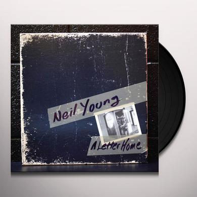 Neil Young LETTER HOME  (W/DVD) (WSV) Vinyl Record - w/CD