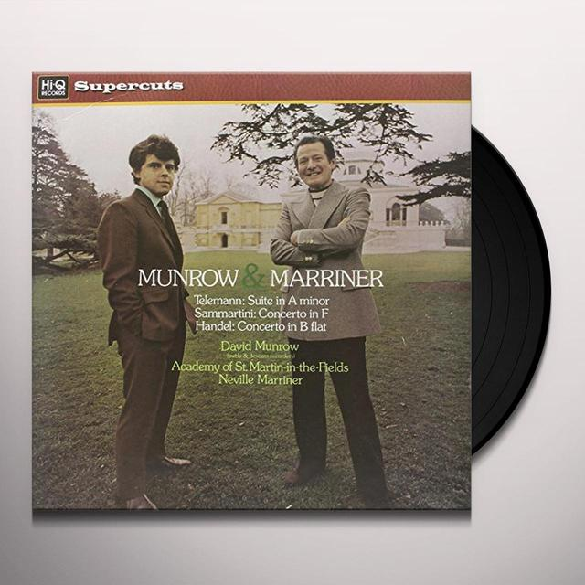 David Munrow MUNROW & MARRINER Vinyl Record - 180 Gram Pressing