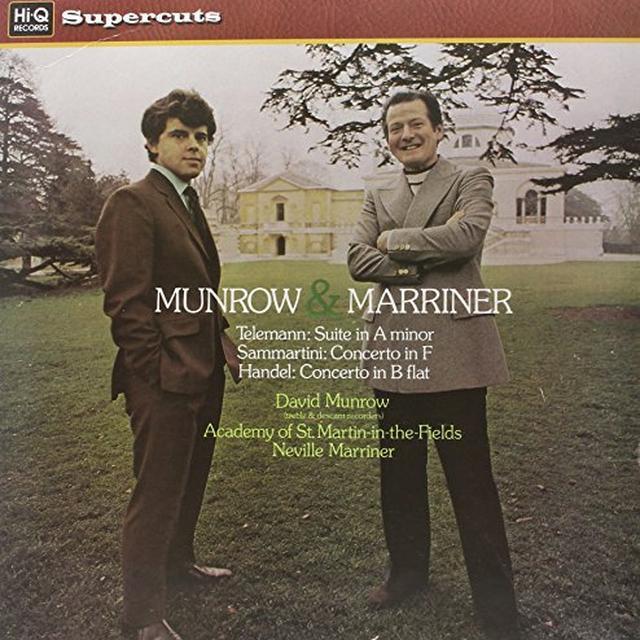 David Munrow MUNROW & MARRINER Vinyl Record - 180 Gram Pressing