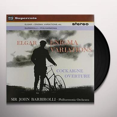 Barbirolli / Philharmonia Orchestra ELGAR ENIGMA VARIATIONS Vinyl Record - 180 Gram Pressing
