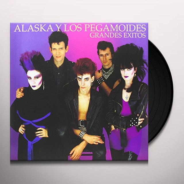 ALASKA Y LOS PEGAMOIDES GRANDES EXITOS-VINILO Vinyl Record