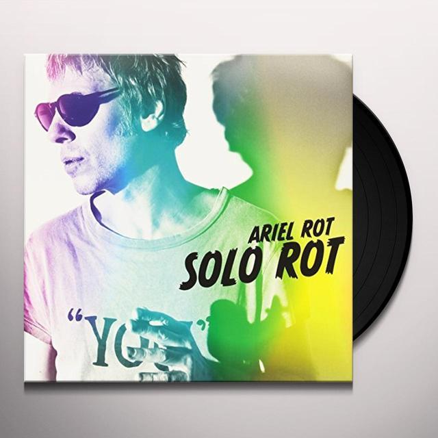 ARIEL ROT SOLO ROT VINILO Vinyl Record - Spain Import