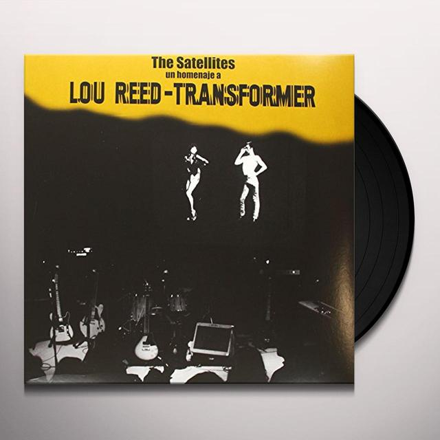 Satellites UN HOMENAJE A LOU REED-TRANSFORMER Vinyl Record - Spain Import