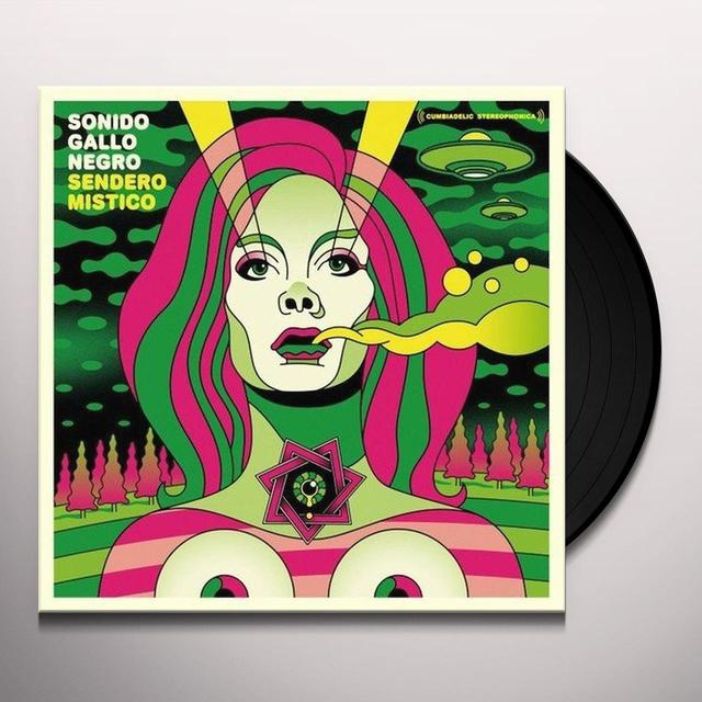 Sonido Gallo Negro SENDERO MISTICO Vinyl Record - w/CD