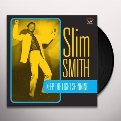 Slim Smith KEEP THE LIGHT SHINING Vinyl Record