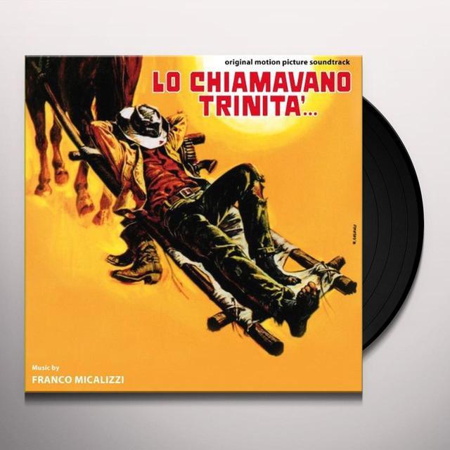 Franco Micalizzi LO CHIAMAVANO TRINITA Vinyl Record