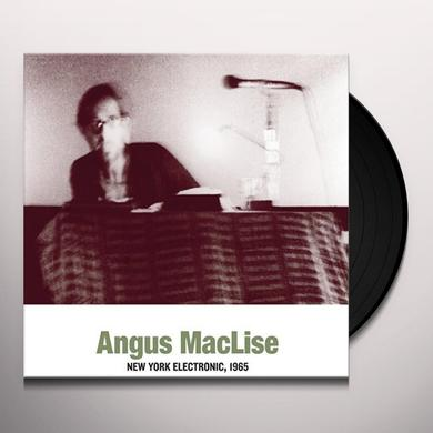 Angus Maclise NEW YORK ELECTRONIC 1965 Vinyl Record