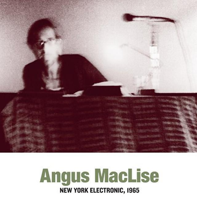 Angus Maclise NEW YORK ELECTRONIC 1965 Vinyl Record