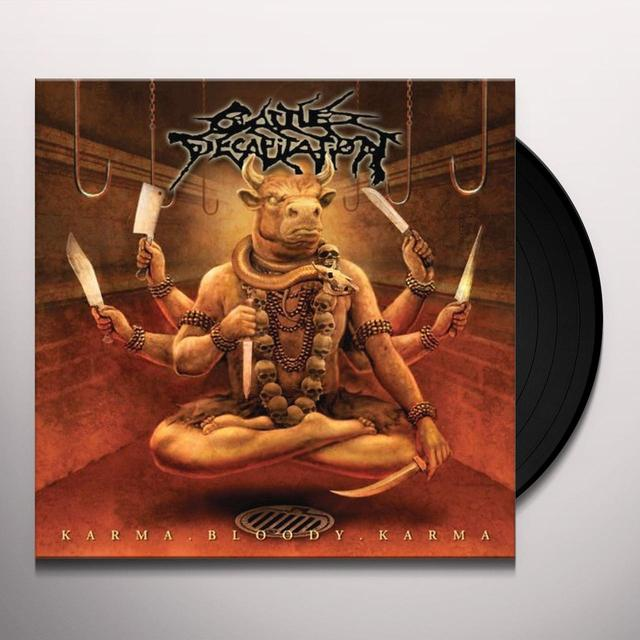 Cattle Decapitation KARMA.BLOODY.KARMA Vinyl Record