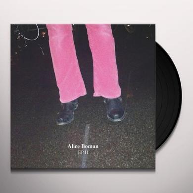 Alice Boman EP II (+ SKISSER EP) Vinyl Record