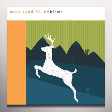 Matt Pond Pa EMBLEMS Vinyl Record - Colored Vinyl, 180 Gram Pressing, Digital Download Included