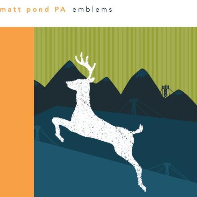 Matt Pond Pa EMBLEMS Vinyl Record