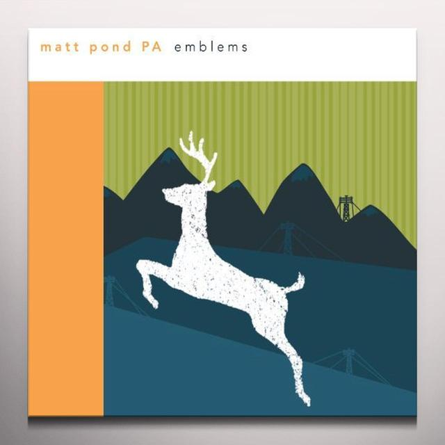Matt Pond Pa EMBLEMS Vinyl Record - Colored Vinyl, 180 Gram Pressing, Digital Download Included