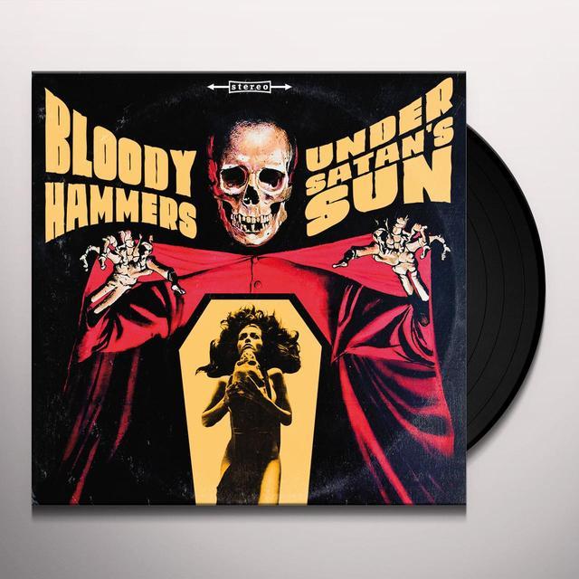 Bloody Hammers UNDER SATANS SUN Vinyl Record
