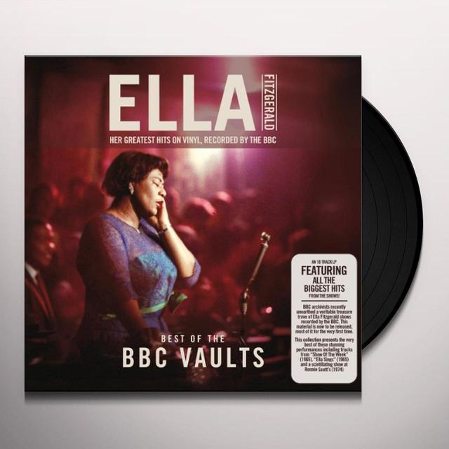 Ella Fitzgerald BEST OF THE BBC VAULTS Vinyl Record