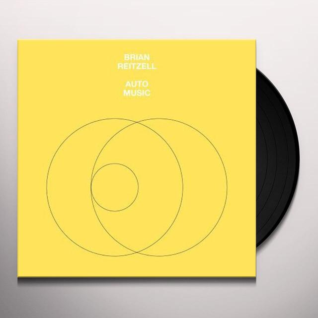 Brian Reitzell AUTO MUSIC Vinyl Record - Digital Download Included