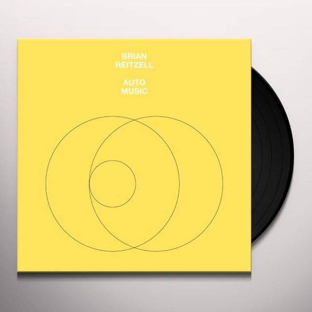 Brian Reitzell AUTO MUSIC Vinyl Record