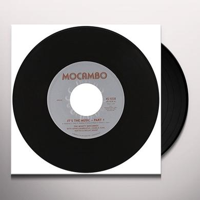 The Mighty Mocambos IT'S THE MUSIC Vinyl Record